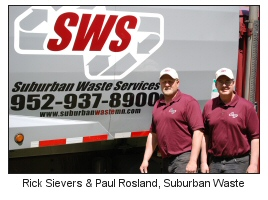 Rick Sievers and Paul Rosland, Suburban Waste